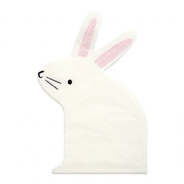 Easter Bunny Paper Party Napkins - pack of 20